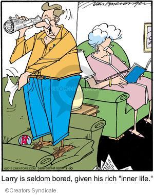 Comic Strip Jerry Van Amerongen  Ballard Street 2012-03-30 give