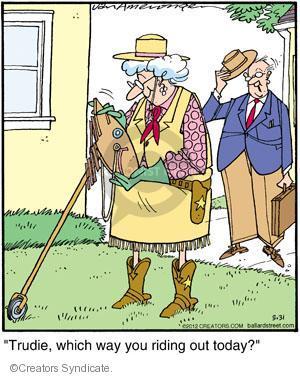 Cartoonist Jerry Van Amerongen  Ballard Street 2012-03-31 direction