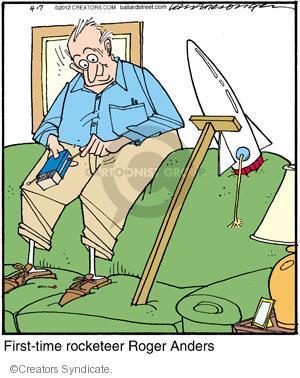 Cartoonist Jerry Van Amerongen  Ballard Street 2012-04-07 hobby