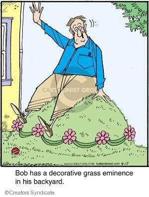 Cartoonist Jerry Van Amerongen  Ballard Street 2012-04-17 backyard