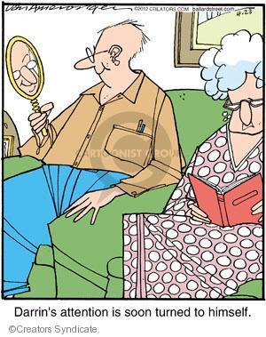 Comic Strip Jerry Van Amerongen  Ballard Street 2012-04-23 himself