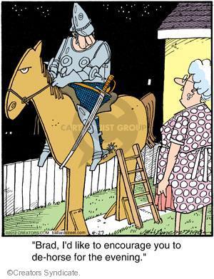 Comic Strip Jerry Van Amerongen  Ballard Street 2012-04-27 Brad