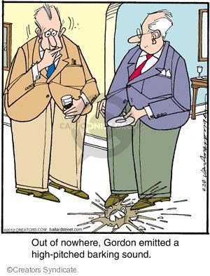 Comic Strip Jerry Van Amerongen  Ballard Street 2012-04-28 bark