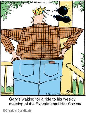 Comic Strip Jerry Van Amerongen  Ballard Street 2012-05-26 wait