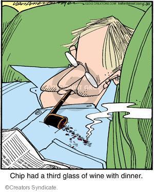 Comic Strip Jerry Van Amerongen  Ballard Street 2012-05-30 dinner