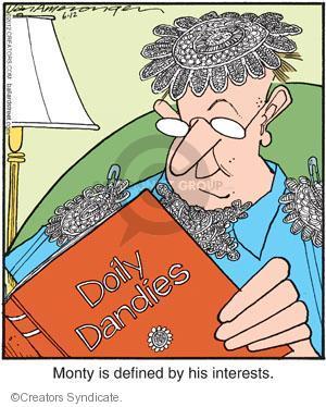 Cartoonist Jerry Van Amerongen  Ballard Street 2012-06-12 hobby