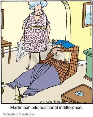 Comic Strip Jerry Van Amerongen  Ballard Street 2012-07-04 position