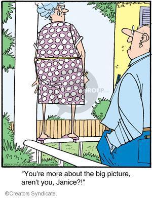 Comic Strip Jerry Van Amerongen  Ballard Street 2012-07-12 perspective