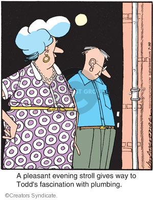 Comic Strip Jerry Van Amerongen  Ballard Street 2012-07-28 give