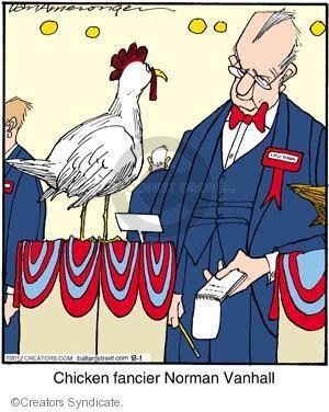 Cartoonist Jerry Van Amerongen  Ballard Street 2012-08-01 hobby