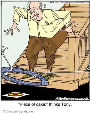 Comic Strip Jerry Van Amerongen  Ballard Street 2012-08-03 trap