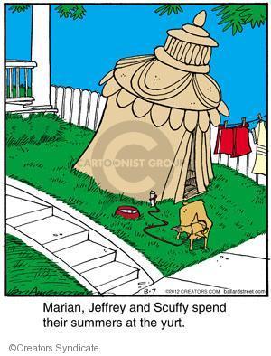 Comic Strip Jerry Van Amerongen  Ballard Street 2012-08-07 scuffy