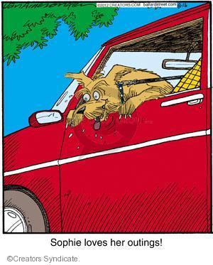 Cartoonist Jerry Van Amerongen  Ballard Street 2012-08-16 dog