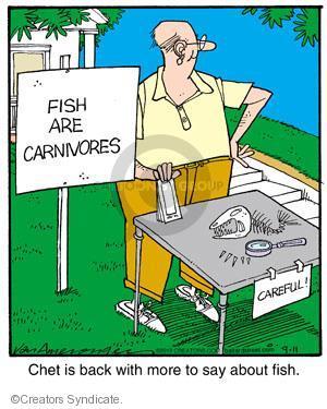 Comic Strip Jerry Van Amerongen  Ballard Street 2012-09-11 fish