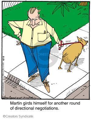 Cartoonist Jerry Van Amerongen  Ballard Street 2012-09-14 dog