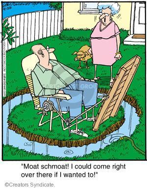 Comic Strip Jerry Van Amerongen  Ballard Street 2012-09-24 over