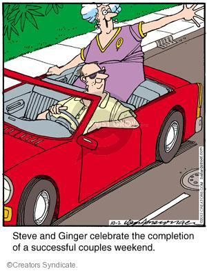 Comic Strip Jerry Van Amerongen  Ballard Street 2012-10-02 relationship