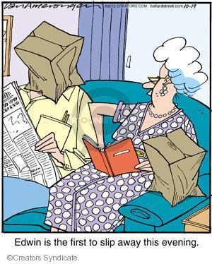 Comic Strip Jerry Van Amerongen  Ballard Street 2012-10-19 over