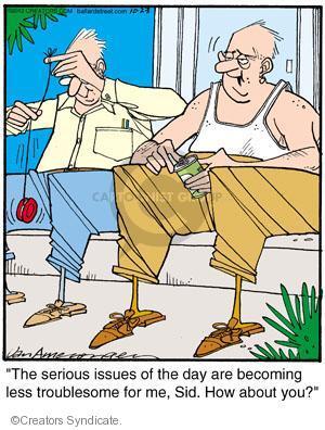 Comic Strip Jerry Van Amerongen  Ballard Street 2012-10-23 apathetic