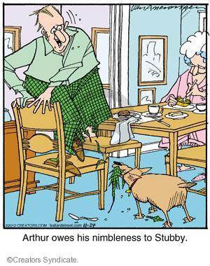 Cartoonist Jerry Van Amerongen  Ballard Street 2012-10-24 dog