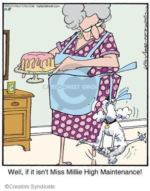 Comic Strip Jerry Van Amerongen  Ballard Street 2012-11-19 behavior