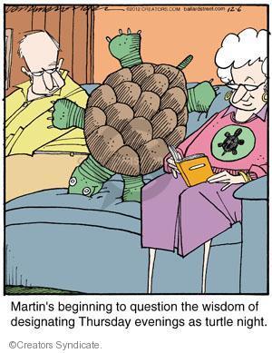 Comic Strip Jerry Van Amerongen  Ballard Street 2012-12-06 question
