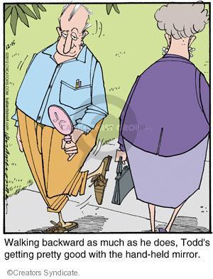 Comic Strip Jerry Van Amerongen  Ballard Street 2012-12-15 Todd