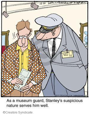 Comic Strip Jerry Van Amerongen  Ballard Street 2012-12-21 him