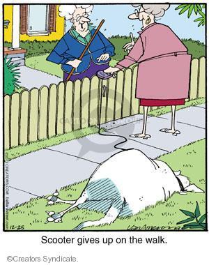 Comic Strip Jerry Van Amerongen  Ballard Street 2012-12-25 give