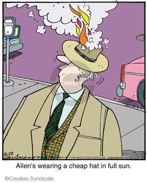 Comic Strip Jerry Van Amerongen  Ballard Street 2012-12-28 fire