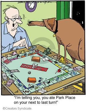 Comic Strip Jerry Van Amerongen  Ballard Street 2012-12-31 board