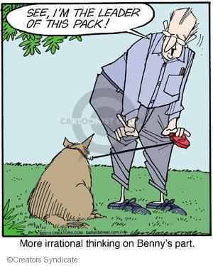 Cartoonist Jerry Van Amerongen  Ballard Street 2013-01-04 dog