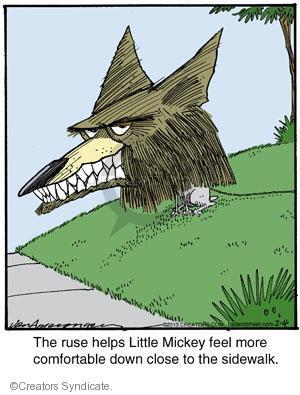 Cartoonist Jerry Van Amerongen  Ballard Street 2013-02-04 dog