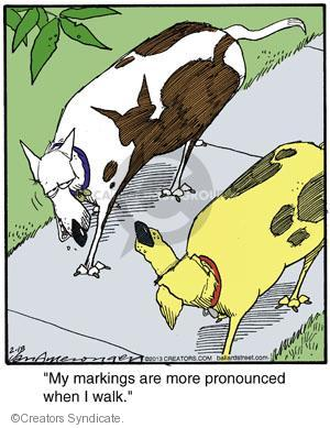 Cartoonist Jerry Van Amerongen  Ballard Street 2013-02-18 dog