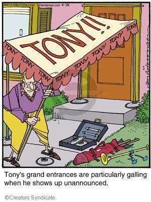 Comic Strip Jerry Van Amerongen  Ballard Street 2013-02-21 particularly