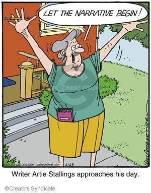 Comic Strip Jerry Van Amerongen  Ballard Street 2013-02-23 approach
