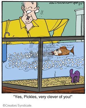 Comic Strip Jerry Van Amerongen  Ballard Street 2013-03-07 clever