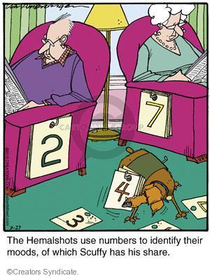 Comic Strip Jerry Van Amerongen  Ballard Street 2013-03-27 numeral