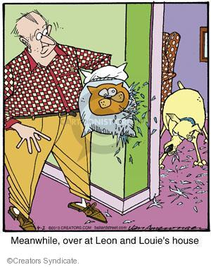 Cartoonist Jerry Van Amerongen  Ballard Street 2013-04-02 dog toy