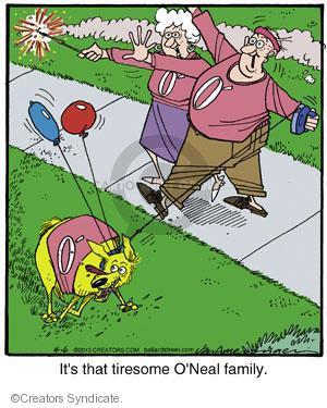 Comic Strip Jerry Van Amerongen  Ballard Street 2013-04-06 over