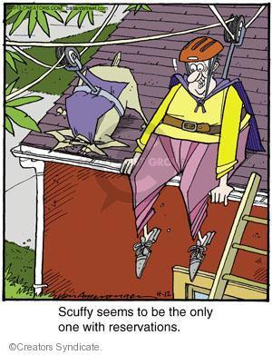 Comic Strip Jerry Van Amerongen  Ballard Street 2013-04-12 scuffy