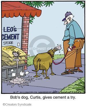 Comic Strip Jerry Van Amerongen  Ballard Street 2013-04-17 give