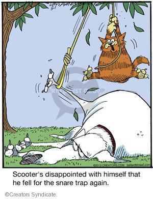 Cartoonist Jerry Van Amerongen  Ballard Street 2013-05-01 dog trick