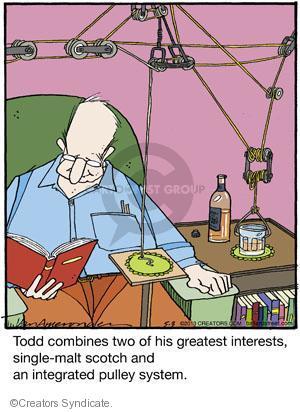 Comic Strip Jerry Van Amerongen  Ballard Street 2013-05-03 Todd