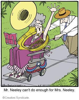 Comic Strip Jerry Van Amerongen  Ballard Street 2013-06-05 relationship