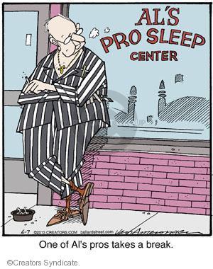 Comic Strip Jerry Van Amerongen  Ballard Street 2013-06-07 professional