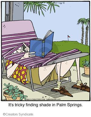 Comic Strip Jerry Van Amerongen  Ballard Street 2013-06-11 under