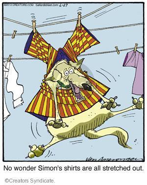 Cartoonist Jerry Van Amerongen  Ballard Street 2013-06-27 dog