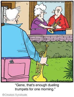 Comic Strip Jerry Van Amerongen  Ballard Street 2013-07-06 musical instrument