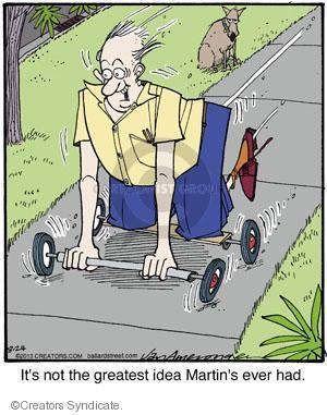 Comic Strip Jerry Van Amerongen  Ballard Street 2013-08-24 dangerous